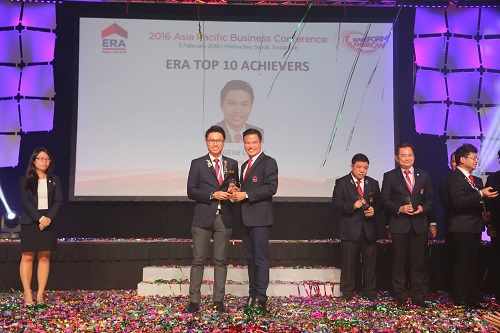 Eugene Lee, 5th Out of 6000 agents Top Achievers Award Year 2015