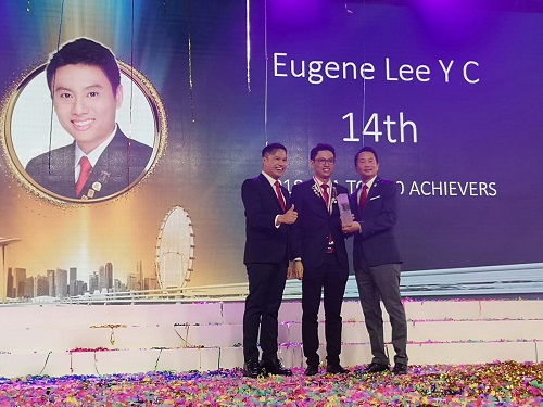 Eugene lee 14th 2018 year pic